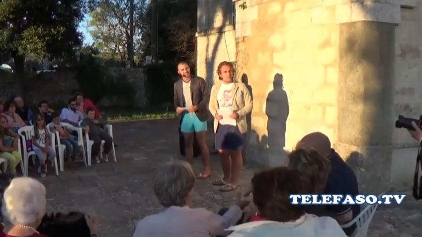 Selva di Fasano 1 agosto 2014: Rido Diaconia Show al Minareto
