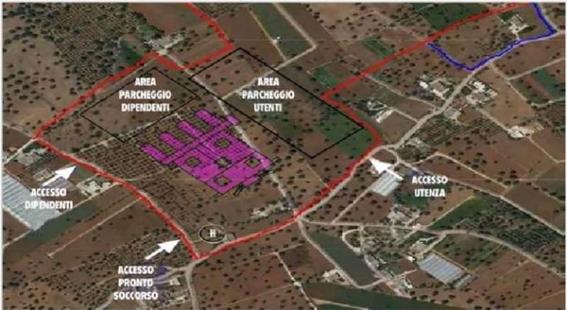 La regione stanzia 105 milioni per il nuovo ospedale di for Nuovo arredo monopoli