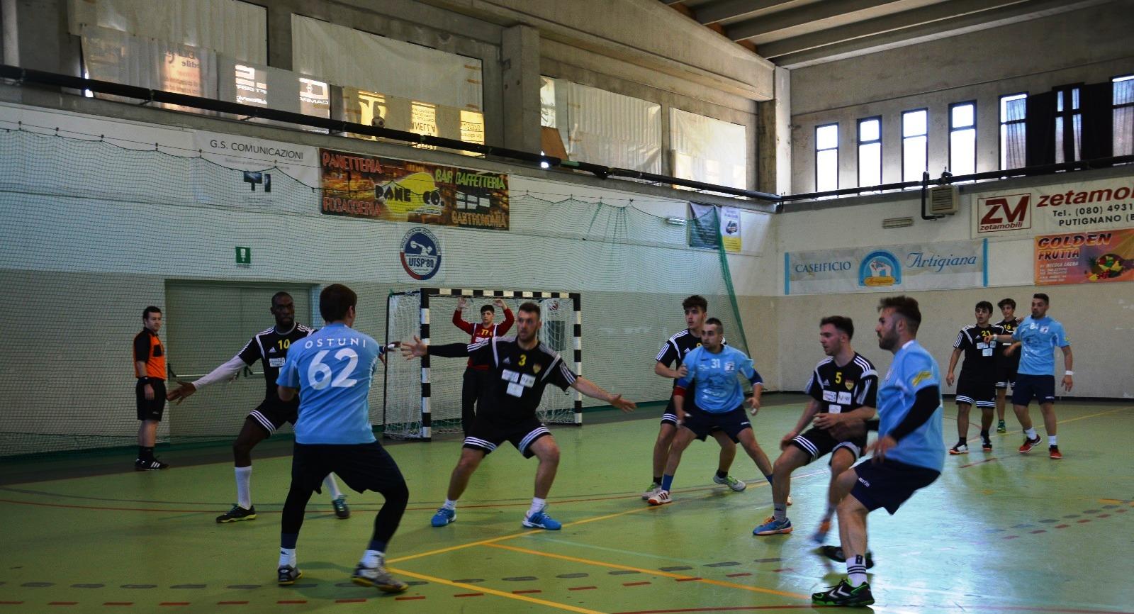 Festa Pallamano Fasano, è promozione in Serie A2!