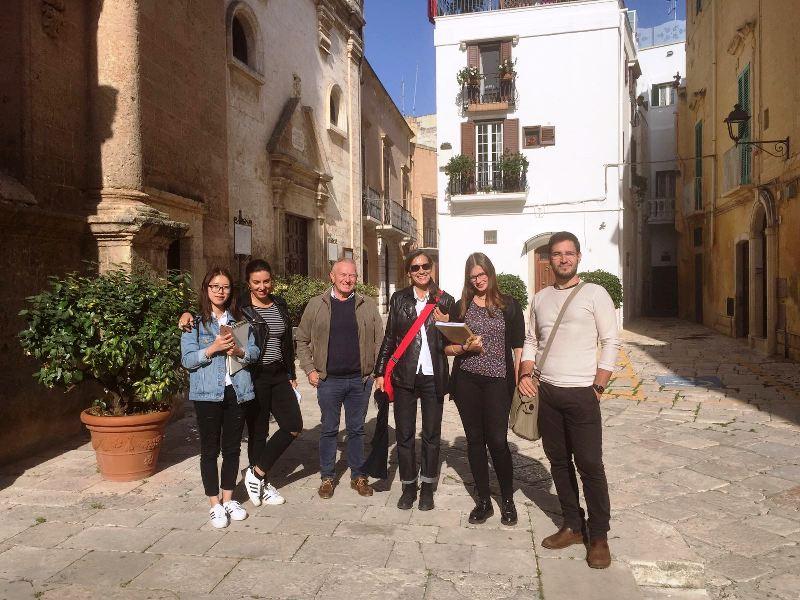 4 studenti dell'Accademia di Belle Arti di Brera a Fasano per un workshop
