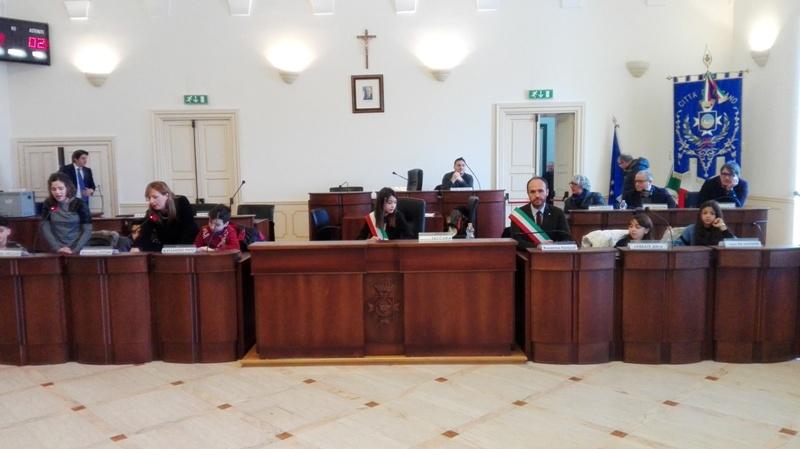 Riunione del Consiglio Comunale