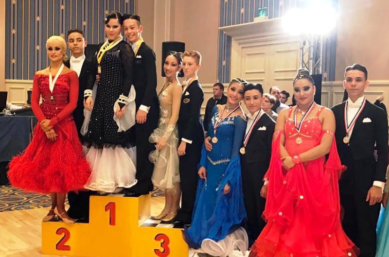 """I ballerini della """"New Top Dance"""", premiati dall'Amministrazione comunale di Fasano"""