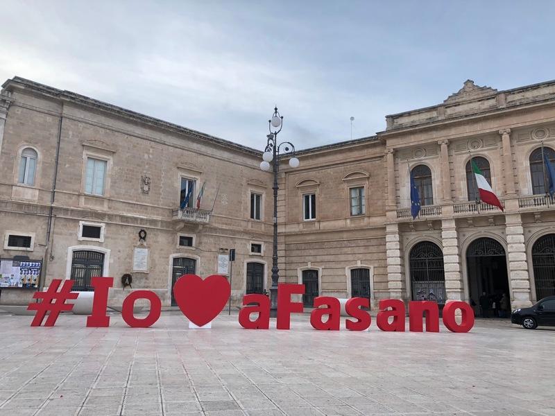 Torna per la seconda edizione 'Io amo a Fasano', il calendario di iniziative messo a punto per San Valentino