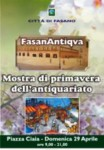 FasanAntiqva mostra mercato dell'antiquariato