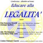 Incontro sulla legalità