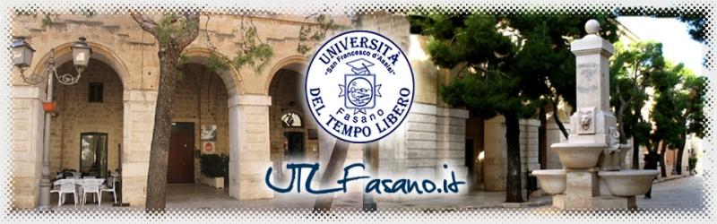 Il rettore Francesco Cupertino inaugurerà il nuovo Anno Accademico dell'Università del Tempo Libero di Fasano