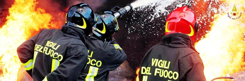 A fuoco palazzina a Savelletri