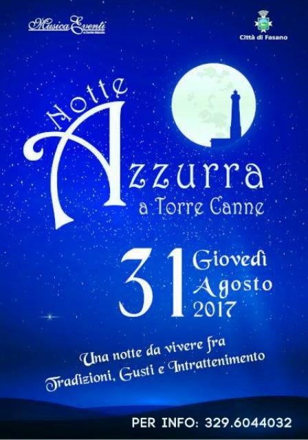 Aspettando l'alba del 1 settembre a Torre Canne sarà Notte Azzurra