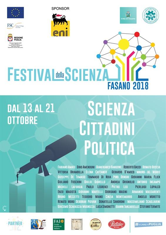 Festival della Scienza 2018: il programma