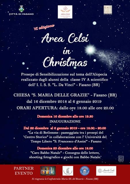 """VI Edizione """"Area Celsi in Christmas"""""""