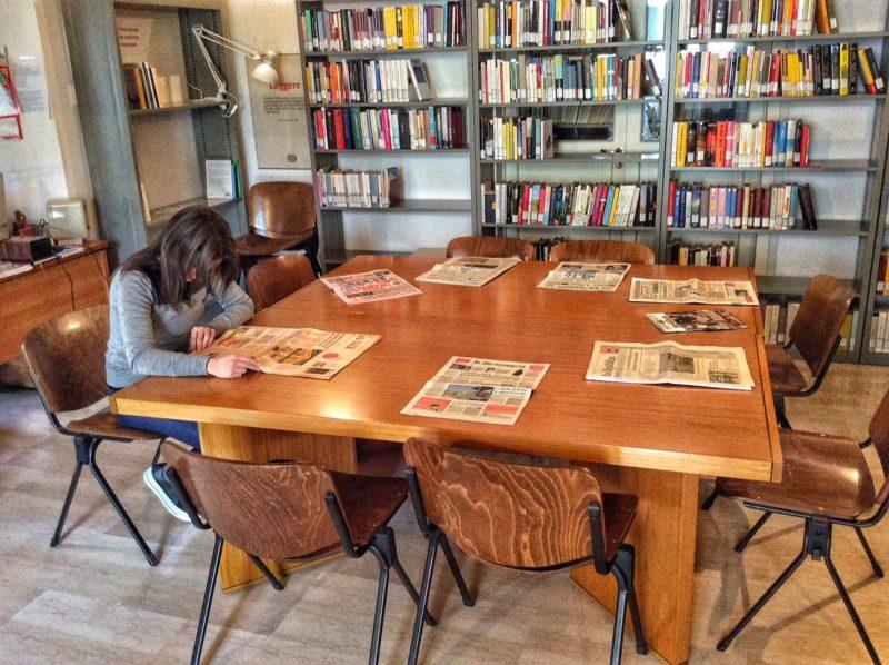 Riaperta la sala periodici della biblioteca di Fasano