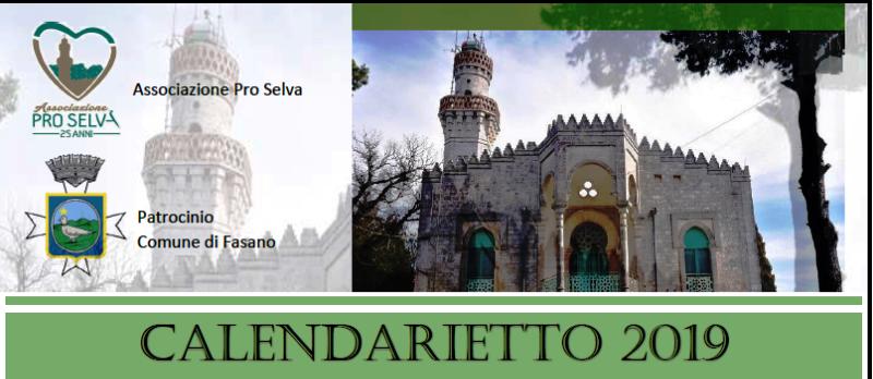 Presentazione calendarietto 2019 Pro Selva