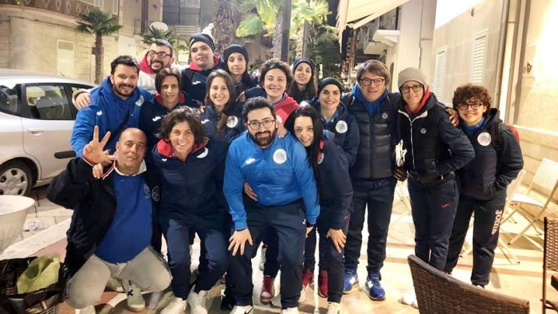 Bella partita della Dona Five che vince a Manfredonia per 3 – 1
