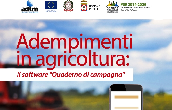 Le nuove tecnologie a servizio delle produzioni alimentari, il secondo seminario sul quaderno di campagna
