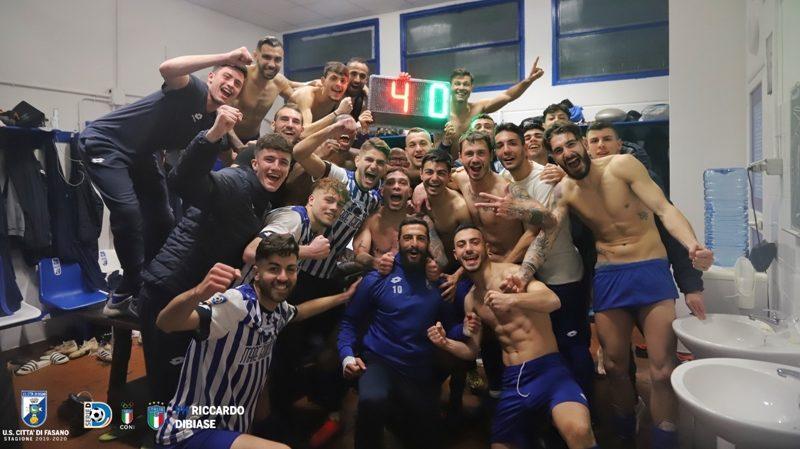 Calcio: Il Fasano conquista la finale nazionale di Coppa Italia