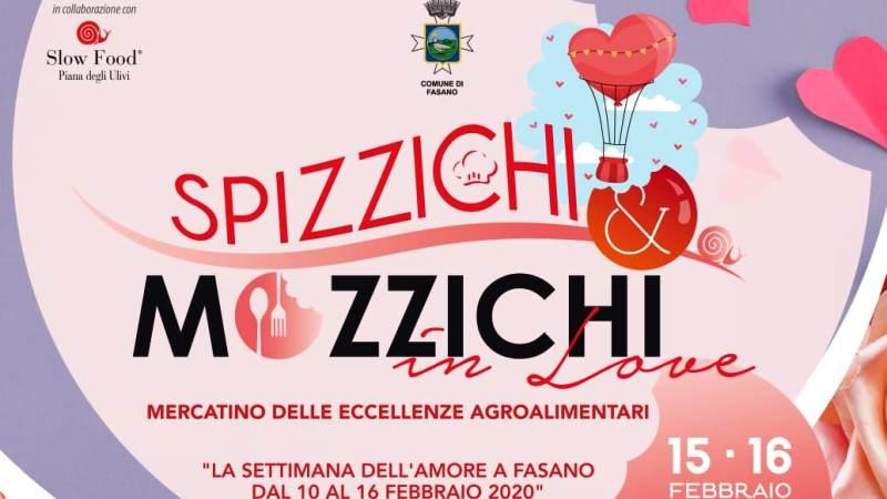 """""""SPIZZICHI E MOZZICHI in Love"""" oggi e domani in piazza Ciaia a Fasano"""