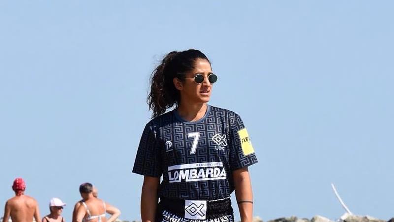 Erika Linza, una vita tra futsal  e beach soccer