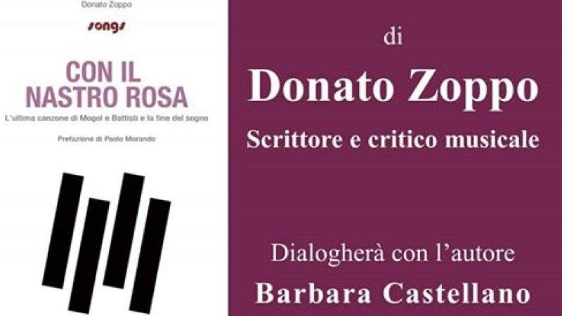 """Presentazione del libro """"Con il nastro rosa"""" dedicato a Lucio Battisti di Donato Zoppo"""